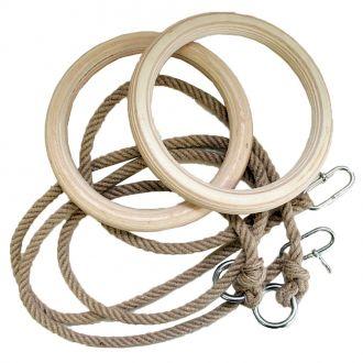 Gymnastické kruhy Spartan 24 cm