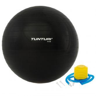 Gymnastický míč 65cm s pumpičkou,černý