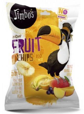 Jimbos Sušené ovocné chipsy RIO Mix 25g
