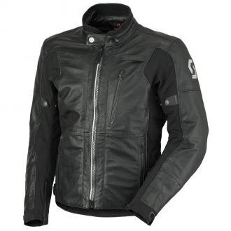 Kožená moto bunda SCOTT Tourance Leather DP