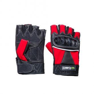 Kožené bezprsté moto rukavice W-TEC NF-4190