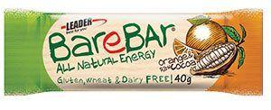 Leader BARS BareBar RAW BAR 40g Orange-Raw Cocoa