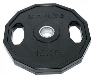 Marcy kotouč pogumovaný hranatý Olympic Rubber Plate 15.0kg, Single