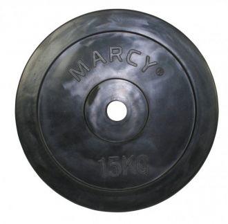 Marcy kotou� pogumovan� Rubber Plate 15.0kg, Single
