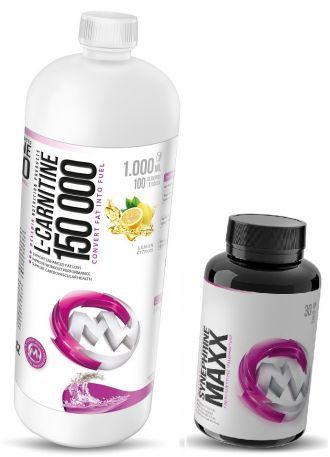 MaxxWin L-CARNITINE 150000 1000ml + Caffeine Energy 60tbl ZDARMA