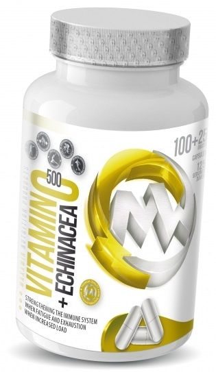 MaxxWin VITAMIN C 500+ECHINACEA 100cps+25cps ZDARMA