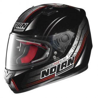 Moto helma Nolan N64 Moto GP Metal Black