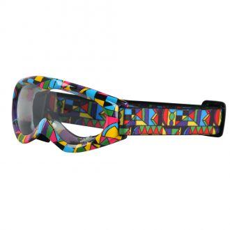 Motokrosové brýle kids W-TEC Spooner s grafikou