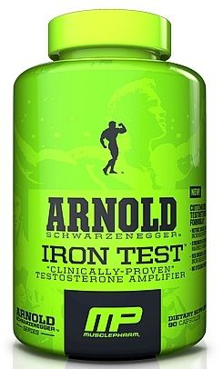 MusclePharm Arnold Series Iron Test