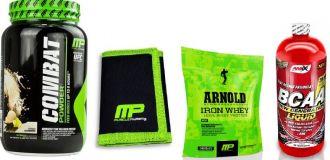 MusclePharm COMBAT 1816 g + Peněženka MP + MP Arnold Series Iron Whey 227g + Amix BCAA 500ml
