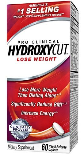 Muscletech HYDROXYCUT Pro Clinical 60cps. EXPIRACE 06/2018
