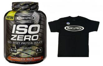 MuscleTech ISO ZERO performance 2270g + triko MuscleTech