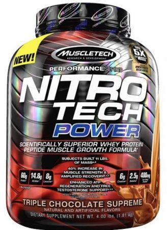 Muscletech NITRO-TECH Power 1800g