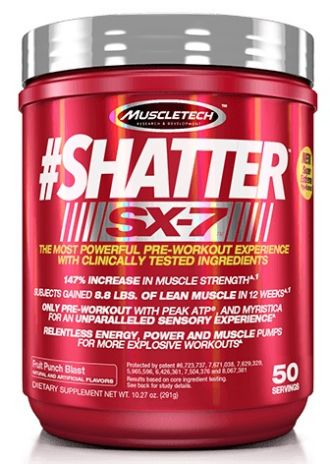 MUSCLETECH Shatter SX-7 30 dávek EXPIRACE 11/02/2018