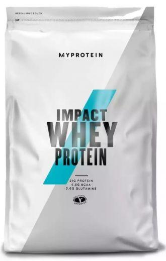 MyProtein Impact Whey Protein 2500g čokoláda burákové máslo
