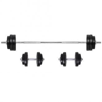 Nakládací činkový set  inSPORTline BS08 3-50 kg