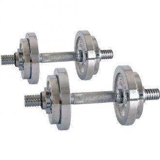 Nakládací jednoručky inSPORTline 2x 3-10 kg