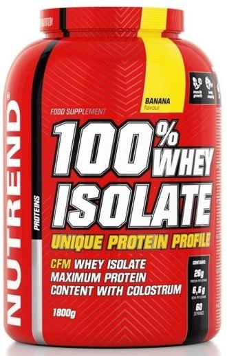 Nutrend 100% WHEY ISOLATE 1800g + BCAA liquid 500ml