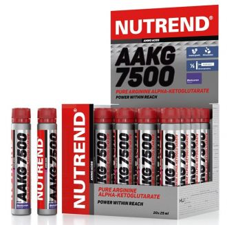 Nutrend AAKG 7500 20x25ml EXPIRACE 22/3/2017 + Nutrend Excelent bar 85g 5x