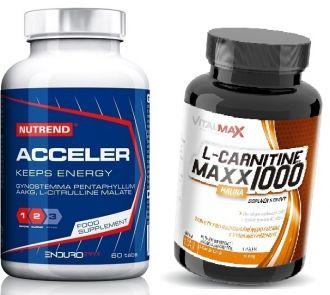 NUTREND ACCELER +  L-CARNITINE MAXX 1000