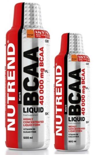 Nutrend BCAA LIQUID 1000ml + 500ml ZDARMA