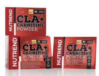 Nutrend CLA + CARNITINE POWDER 10x12g cherry punč
