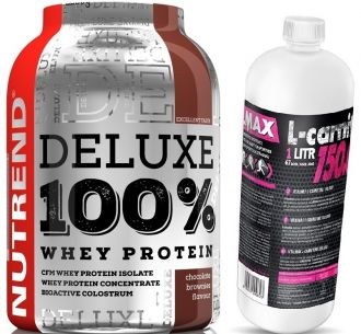 NUTREND DELUXE 100% WHEY 2250g + L-CARNITINE 150.000