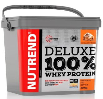 NUTREND DELUXE 100% WHEY 5000g + Nutrend Flexit 180tbl. + Nutrend BCAA mega strong 500ml
