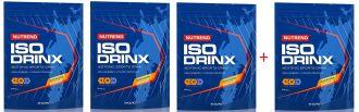 NUTREND ISODRINX 840g - akce 3+1 ZDARMA