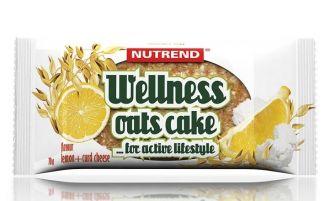 Nutrend WELLNESS OATS CAKE