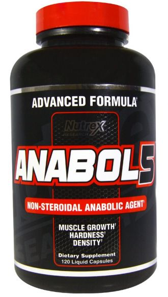 Nutrex ANABOL-5 BLACK 120 kapslí