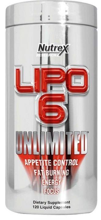 Nutrex LIPO 6 UNLIMITED 120 kps
