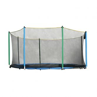 Ochrann� s� na trampol�nu inSPORTline 305 cm + 6 ty��