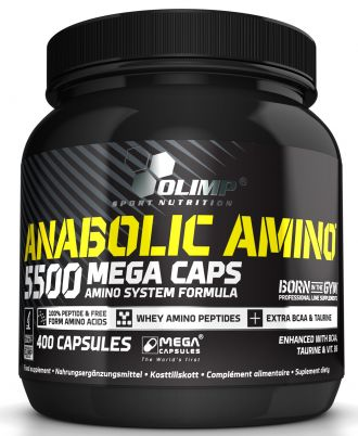 Olimp Anabolic Amino 5500 400 kps
