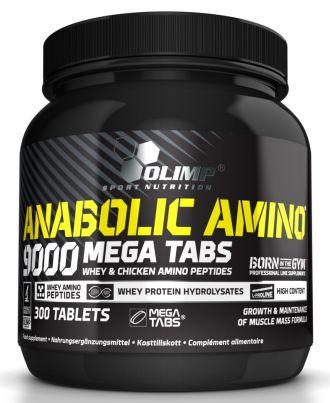 Olimp Anabolic Amino 9000 Mega Tabs 300 tbl.