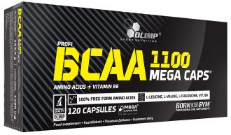 Olimp BCAA 1100 MEGA CAPS 120 kps