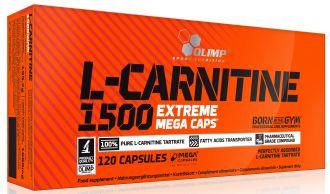 Olimp L-Carnitine 1500 Extreme Mega Caps 120 kps