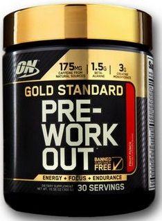 Optimum Gold Standard Pre-Workout 330g + dávkovač
