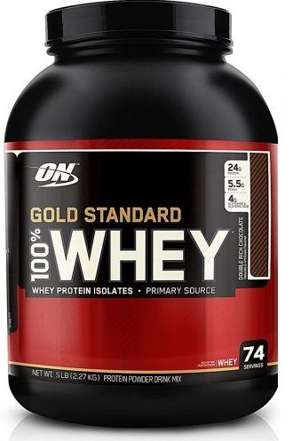 Optimum Nutrition 100% Whey Protein Gold 2270g + šejkr ON