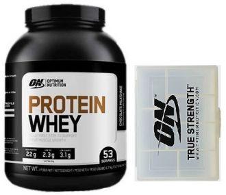 Optimum Nutrition Protein Whey 1700g + Optimum PILL BOX