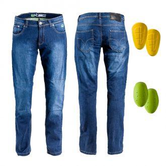 Pánské moto jeansy W-TEC C-2025
