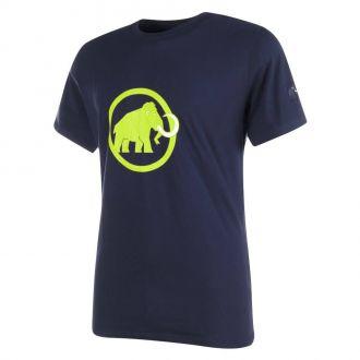Pánské sportovní tričko MAMMUT Logo - krátký rukáv