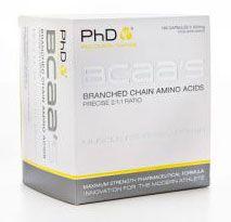 PhD Nutrition BCAA´s 195