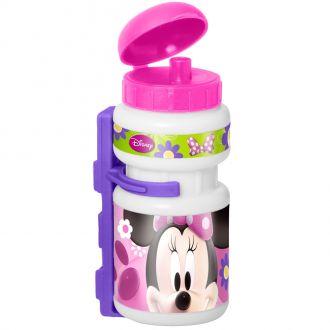 Plastová láhev s držákem Myška Minnie