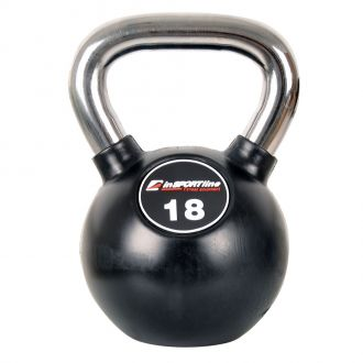 Pogumovaná činka inSPORTline Ketlebel Profi 18 kg