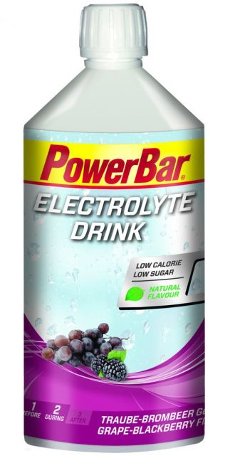 PowerBar Electrolyte Drink 1000ml Grape-Blackberry