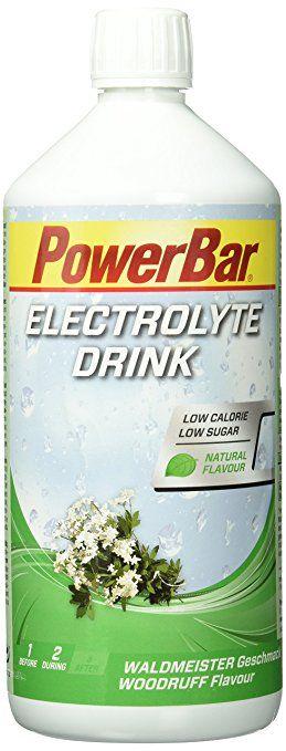 PowerBar Electrolyte Drink 1000ml Woodruff  EXPIRACE 11/2017