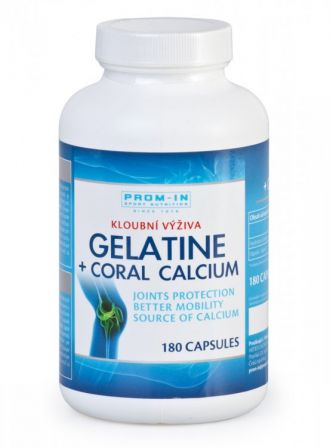 PROM-IN GELATINA + coral calcium 180 kapslí