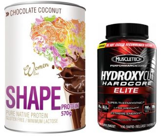 PROM-IN SHAPE + MuscleTech HYDROXYCUT Hardocore ELITE