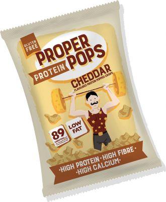 Proper Pops Proper Protein Pops 25g Cheddar